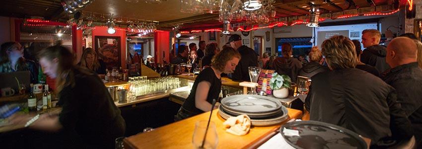Horeca bistro bar restaurant op camping polleur
