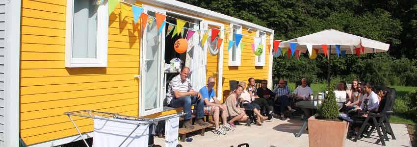 Vele accommodaties zijn op camping polleur voor een weekend naar de Belgische ardennen
